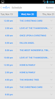Screenshot of Hallmark Channel Everywhere
