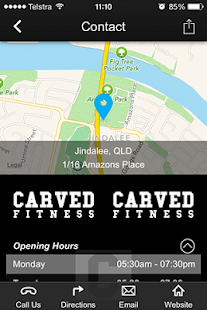 Carved Fitness - screenshot