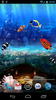 Screenshot of Aquarium Free Live Wallpaper