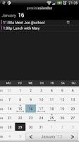 Screenshot of Gemini Calendar