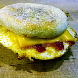 NO McMuffin Here!!! BACON by Theodore Schlosser - Instagram & Mobile Android ( breakfast, food, bacon, yummy, morning )