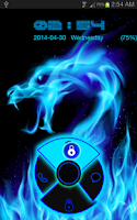 Screenshot of Blue Neon Dragon Go Locker