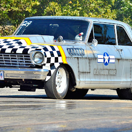 Aviation Theme Deuce by Kevin Dietze - Transportation Automobiles ( drag racing, nova, racing, chevy ii, chevy, motorsports )