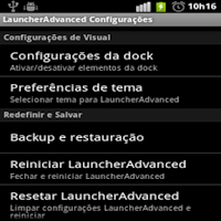 Screenshot of Launcher Advanced