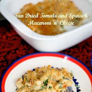 Creamy Sun Dried Tomato and Spinach Mac 'n' Cheese