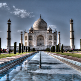 wah TAJ!! by Ashutosh Singhvi - Buildings & Architecture Statues & Monuments ( mougal, ancient, taj mahal, india, historic )