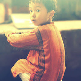 Cute Baby by Dekyiling Shichak - Babies & Children Children Candids ( dresses, indian, kids, handsome, cute,  )