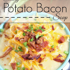 Creamy Bacon Potato Soup