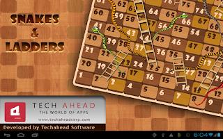 Screenshot of Snakes&Ladders