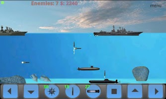 Screenshot of Submarine Attack! Arcade