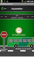 Screenshot of Nerde Bu Otobus?