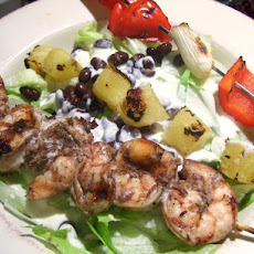 Jivin Jerk Shrimp Salad