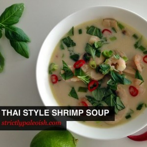Thai Style Shrimp Soup