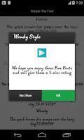 Screenshot of Pencil Font for Flipfont Free