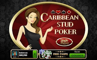Screenshot of Caribbean Stud Poker