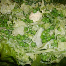Pea and Lettuce Salad
