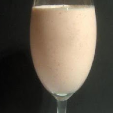 Low Fat Strawberry Ice Smoothie