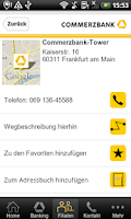 Screenshot of Commerzbank