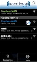 Screenshot of ContineoWiFi