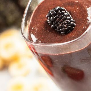 Chocolate Berry Kale Smoothie