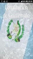 Screenshot of Constitución de Guatemala
