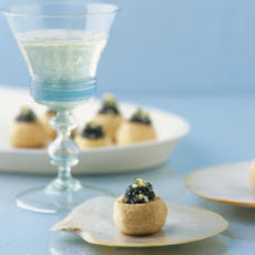 Pastry Puffs with Caviar