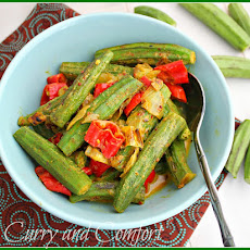 Okra Curry with Coconut Milk (Throwback Thursday)