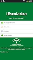 Screenshot of iEscolariza