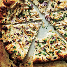 Chicken and Herb White Pizza