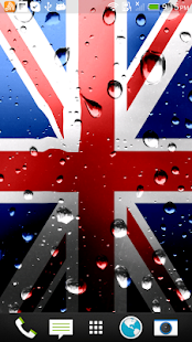 uk flag live wallpaper free android app market