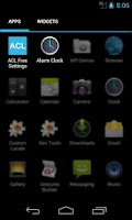 Screenshot of Alarm Clock Launcher