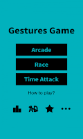 Screenshot of Gestures Game