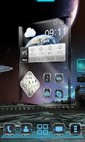 Screenshot of Robotech Next Launcher Theme