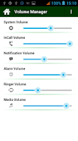 Screenshot of Volume Manager