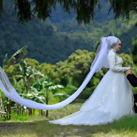 by Roy Ardy - Wedding Bride & Groom ( wedding, bride and groom )