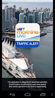 Screenshot of CTV Morning Live Traffic