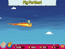 Screenshot of Jumping Finn Turbo