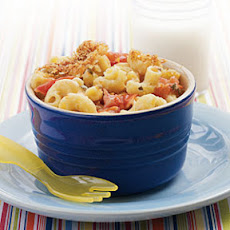 Mac and Cheese with Roasted Tomatoes