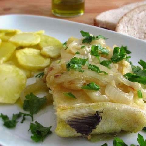 Cod With Fried Potatoes