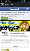 Screenshot of Radio Amigos de Jesus
