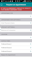 Screenshot of Carolinas HealthCare System