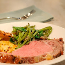 Standing Rib Roast (Prime Rib) with Yorkshire Pudding