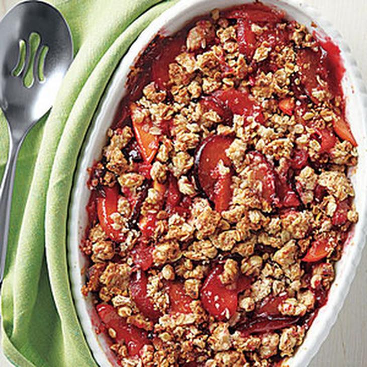 Peach and Plum Crisp Recipe   Yummly