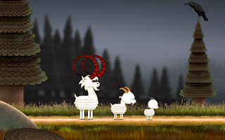 Screenshot of The three Billy Goats Gruff