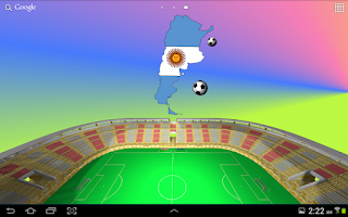 Screenshot of World Cup Wallpaper Argentina