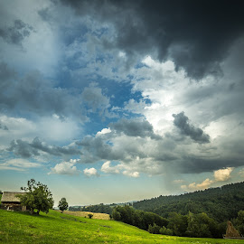 by Daniel Alexandru - Landscapes Cloud Formations