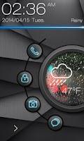 Screenshot of Coolight GO Locker Theme