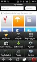 Screenshot of Yandex.Opera Mini