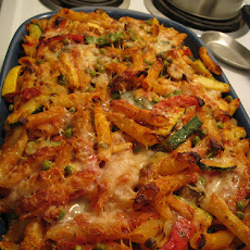 Pasta With Roast Vegetable Sauce