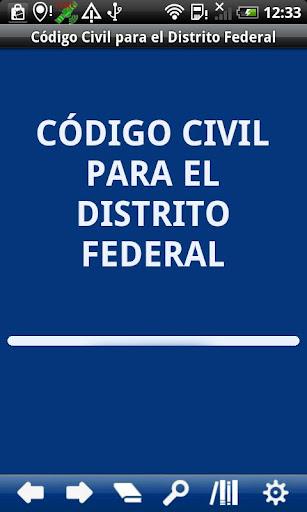 Civil Code Distrito Federal